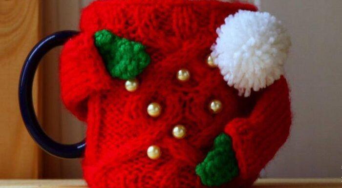 Decoratiuni tricotate pentru Craciun si revelion
