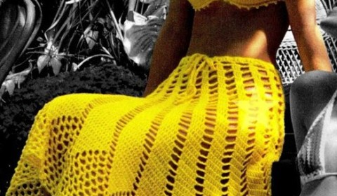 Culoarea galbena – moda pentru plaja