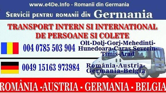 Mesaje noi primite pe site-ul din Germania
