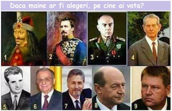 Eu pe cine votez?