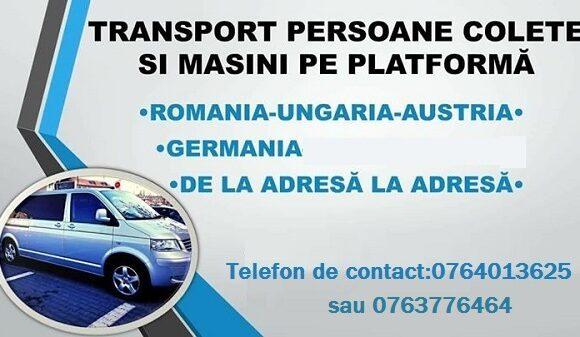 Transport din Germania in Romania si retur