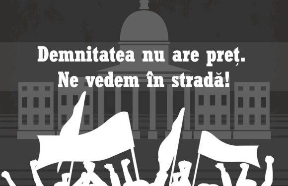 OFICIAL – Studentii se ALATURA PROTESTELOR!