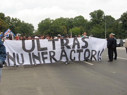 ULTRASII din GALERIILE de FOTBAL se ALATURA PROTESTULUI din 20 ianuarie!